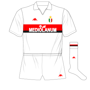 AC-Milan-1988-1989-white-away-kit-shirt-Mediolanum