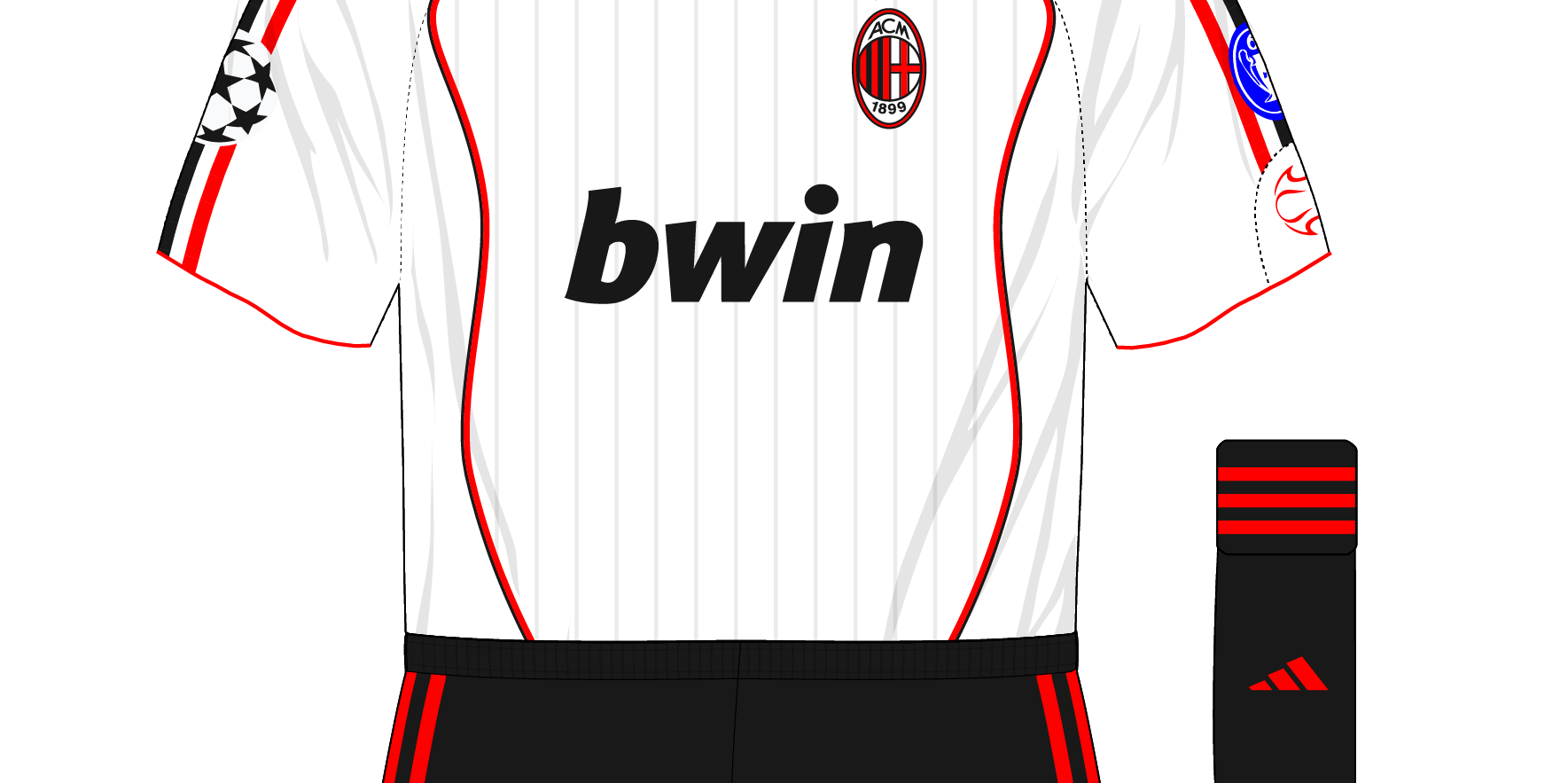 efdd7800942 We ve written recently about AC Milan s preference for all-white kits in European  Cup and Champions League finals
