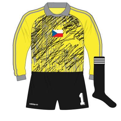 adidas-Czechoslovakia-goalkeeper-shirt-jersey-World-Cup-1990-Stejskal