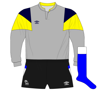 Sheffield-Wednesday-1989-1991-Umbro-grey-goalkeeper-shirt-Chris-Turner