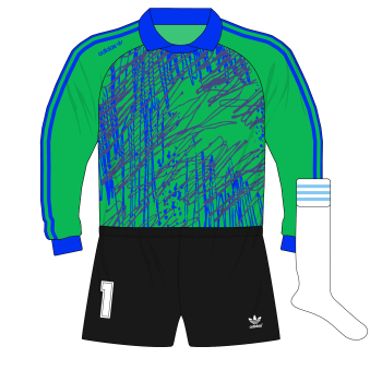 adidas-Argentina-green-goalkeeper-camiseta-jersey-1991-Goycochea