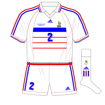 adidas-1998-France-away-maillot-shirt-World-Cup-white-shorts-Italy