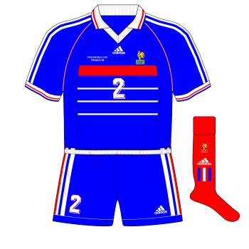 adidas-1998-France-maillot-shirt-World-Cup-blue-shorts-Croatia