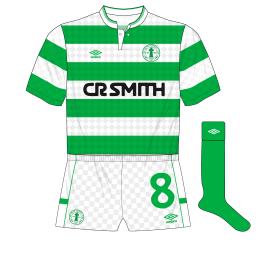 Celtic-Umbro-1988-1989-home-kit-shirt-centenary-crest-green-socks