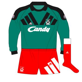 Liverpool-1991-1992-home-goalkeeper-shirt-green-adidas-Equipment