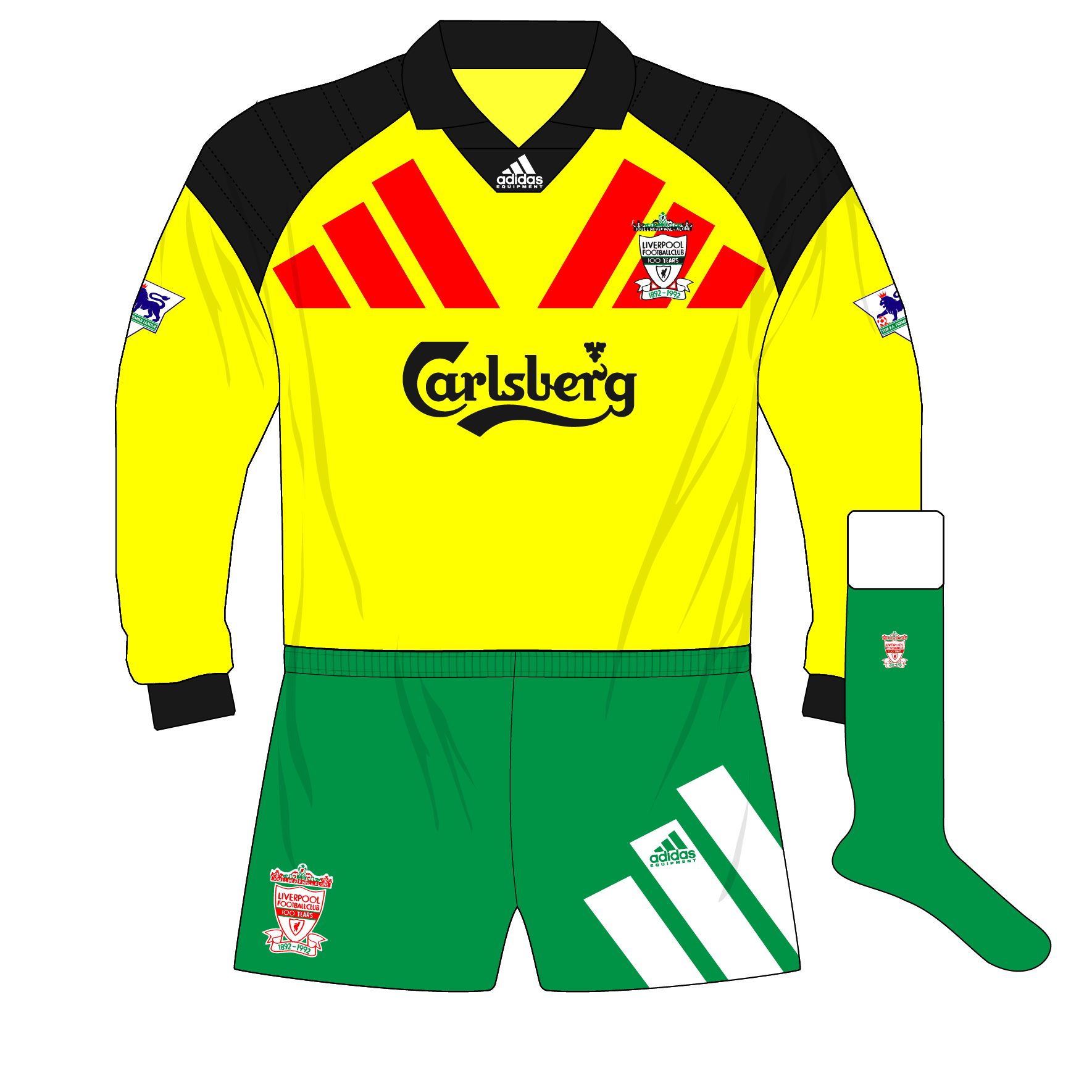Liverpool-1992-1993-away-goalkeeper-shirt-yellow-adidas-Equipment-Carlsberg-01