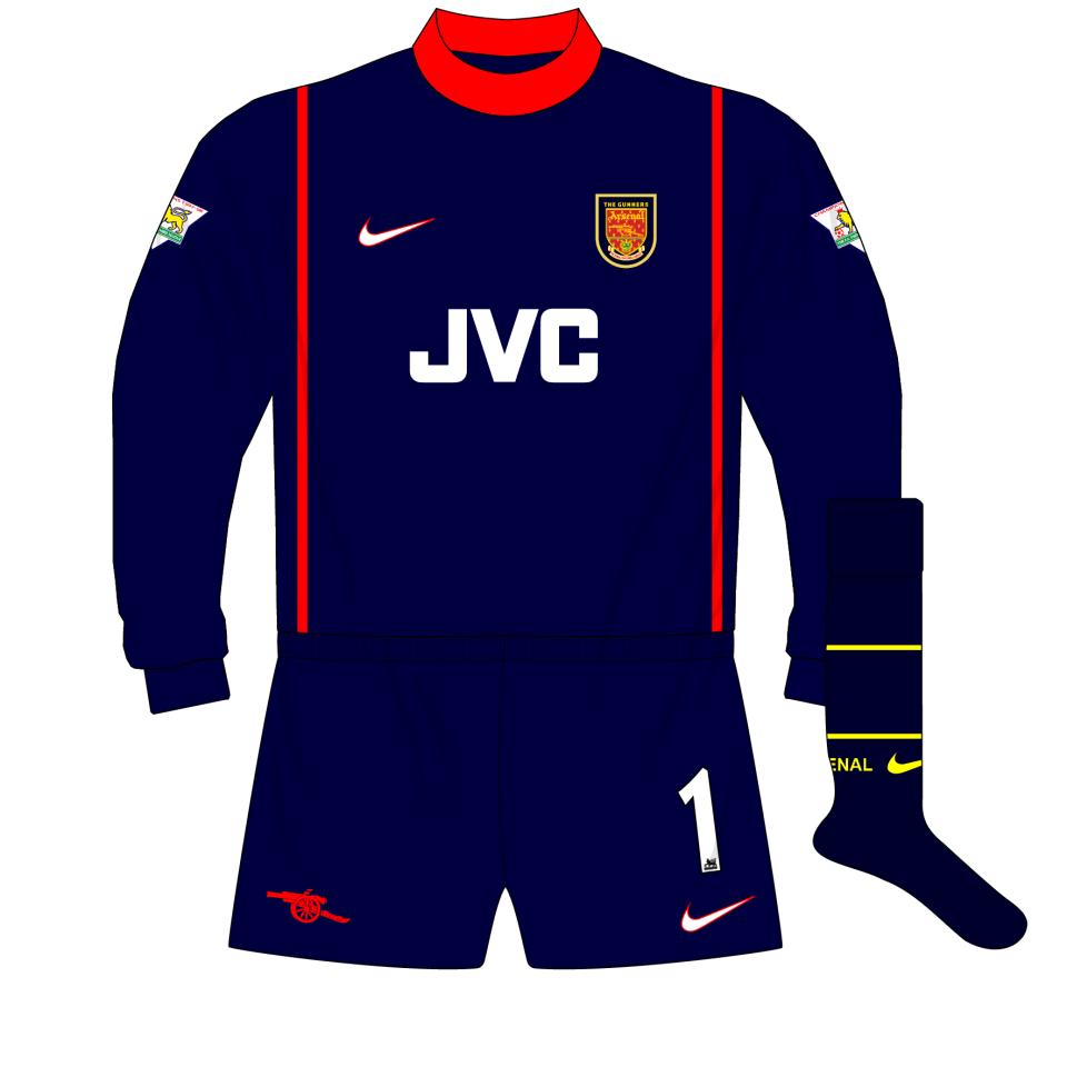 89ab3c278 Manchester United Goalkeeper Shirt 1999 – EDGE Engineering and ...