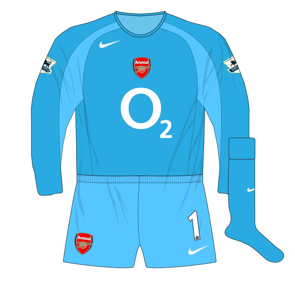 low priced f28cb 32479 Arsenal-Nike-2004-2005-blue-goalkeeper-shirt-kit-Lehmann-01 ...
