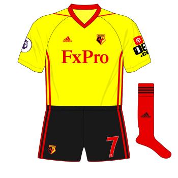 2017-2018-Watford-adidas-home-kit-red-socks-Bournemouth-01.png
