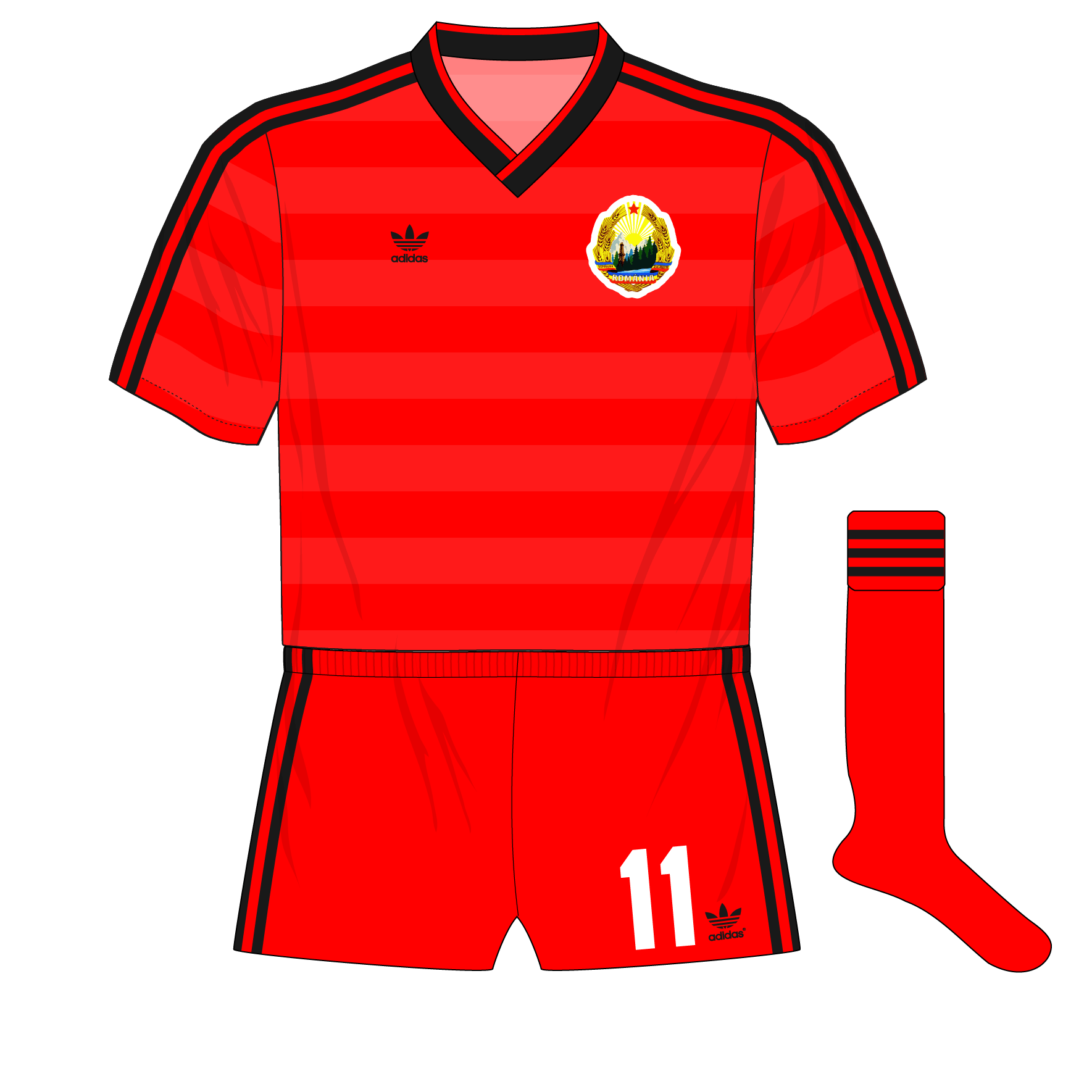 70014c227 The history of Romania s kits from 1984 to 1997 – Museum of Jerseys