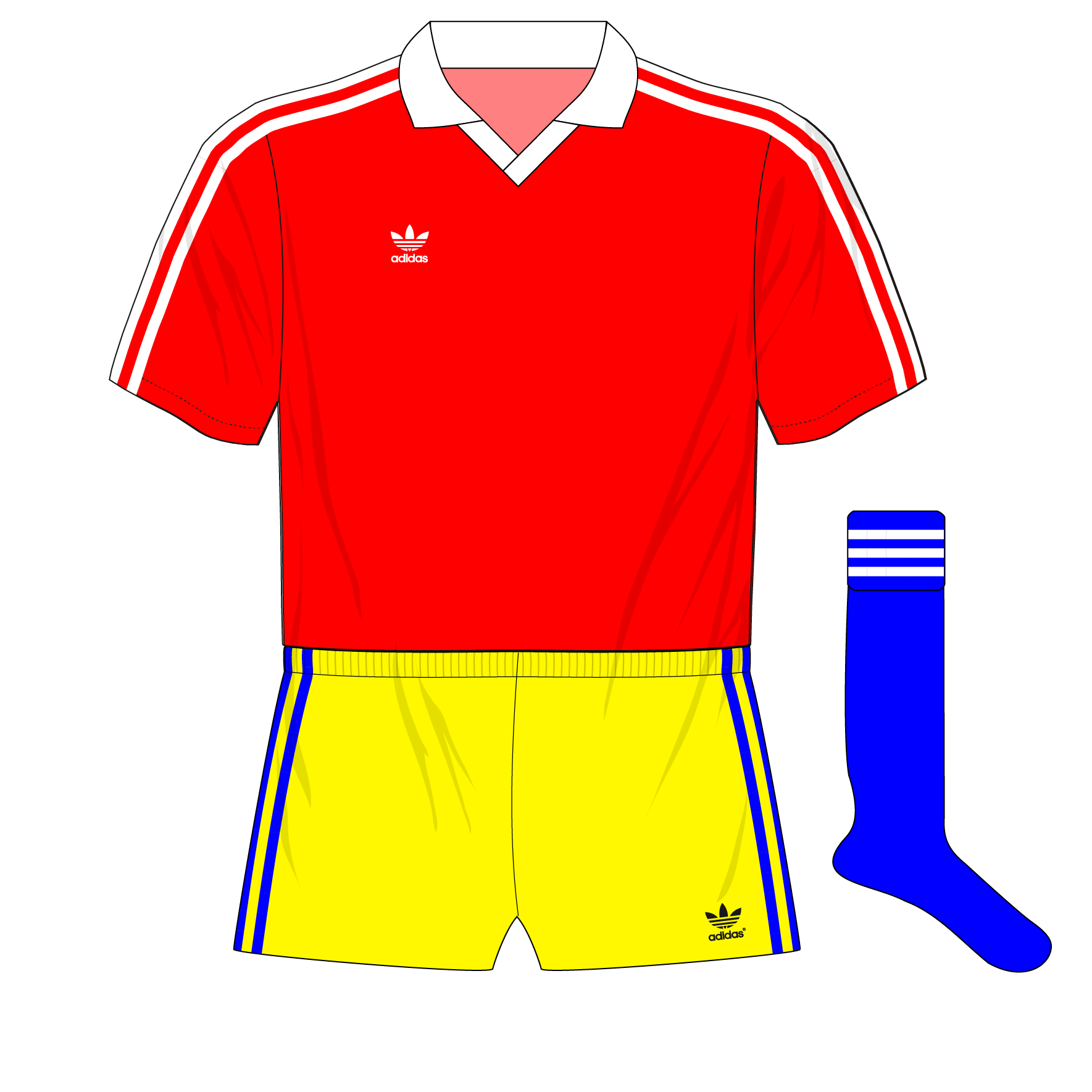 4da86e37f The history of Romania s kits from 1984 to 1997 – Museum of Jerseys