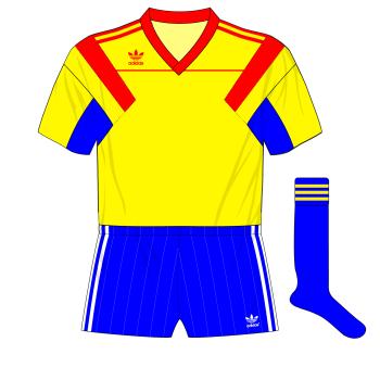 Romania-adidas-1990-home-World-Cup-Belgium-friendly-blue-socks-01