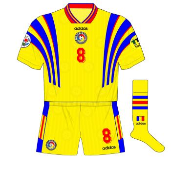 Romania-home-kit-adidas-Euro-96-France-flag-socks-01