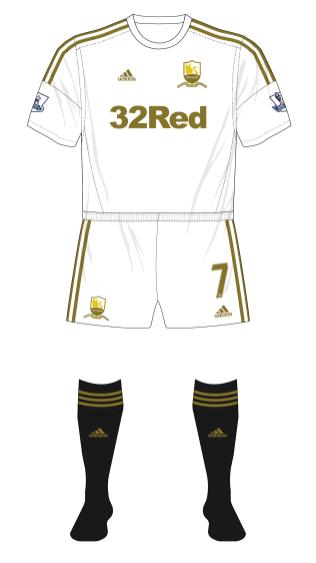 Swansea-City-2012-adidas-alternative-home-kit-black-socks-Arsenal-01