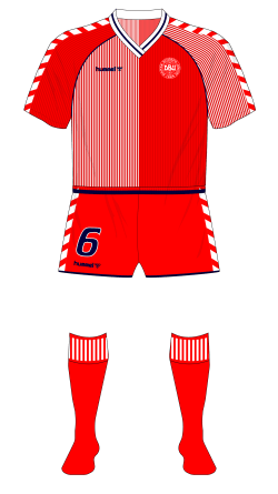 Denmark-1986-hummel-home-shirt-red-shorts-Uruguay-01