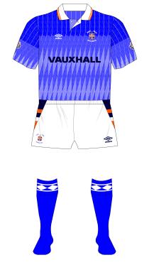 Luton-Town-1990-1991-Umbro-away-kit-white-shorts-Spurs-Sunderland-01