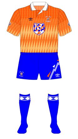 Luton-Town-1991-1992-Umbro-away-kit-blue-shorts-socks-QPR-01