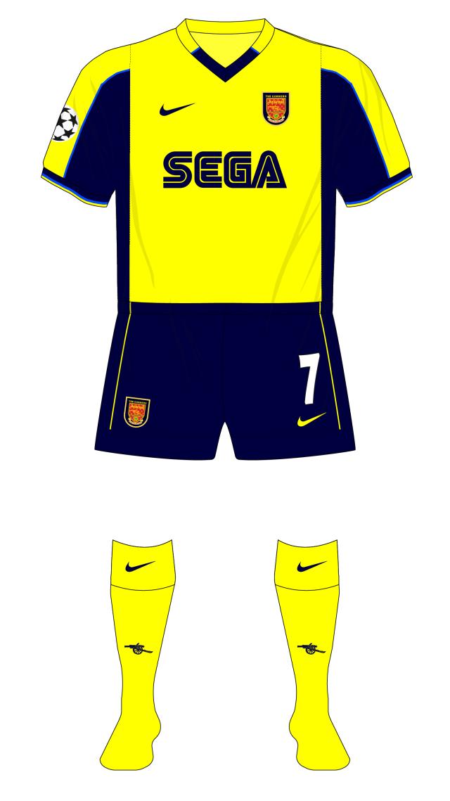 Arsenal-2000-2001-Nike-away-kit-Sparta-Prague-Champions-League-change-half-time-01