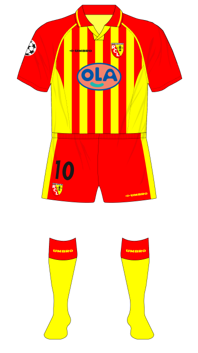 RC-Lens-1998-1999-Umbro-maillot-domicile-Champions-League-Arsenal-01