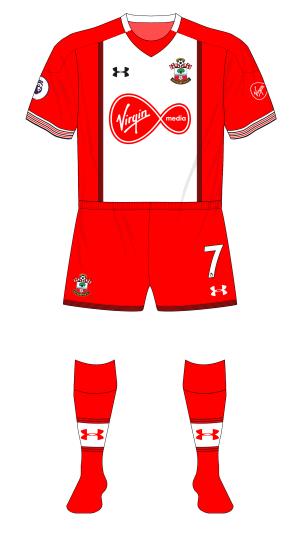 Southampton-2017-2018-Under-Armour-home-kit-red-backs-shorts-socks-Newcastle-01