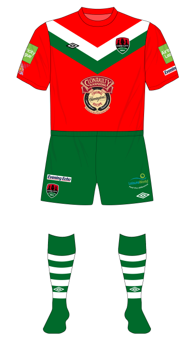 Cork-City-2012-Umbro-away-shirt-home-shorts-socks-Dundalk-01