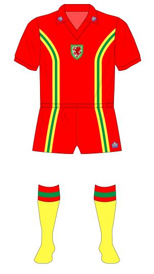 Wales-Admiral-1977-home-kit-yellow-socks-Scotland-Joe-Jordan