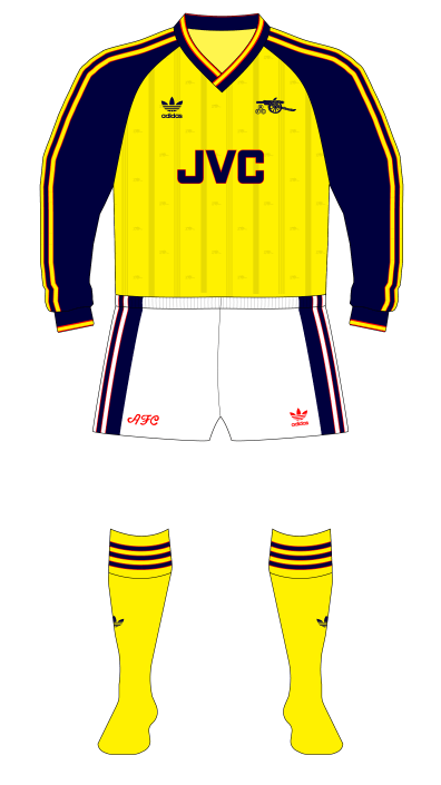 Arsenal-1988-1990-adidas-away-kit-white-shorts-Southampton-01