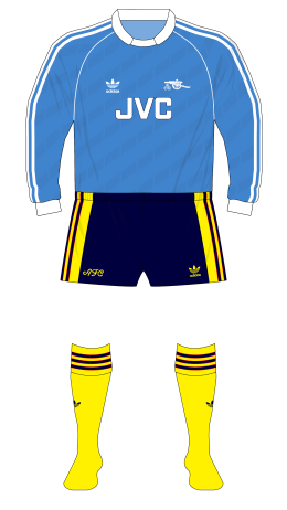 Arsenal-1989-1990-adidas-goalkeeper-shirt-blue-Lukic-Plymouth-01