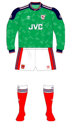 Arsenal-1990-1991-adidas-goalkeeper-shirt-green-Seaman-01