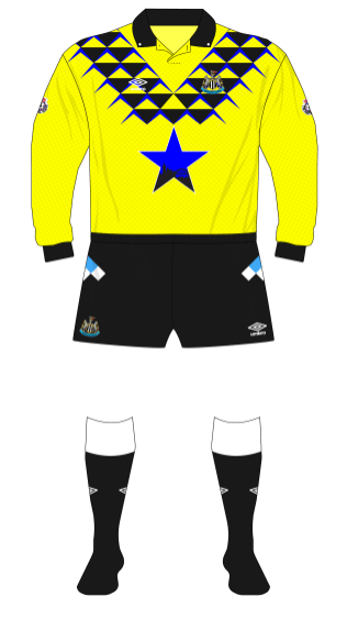 Newcastle-United-1991-1992-Umbro-goalkeeper-shirt-yellow-Srnicek-01