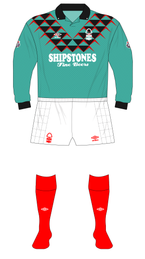 Nottingham-Forest-1991-1992-Umbro-goalkeeper-shirt-Crossley-padded-shorts-01