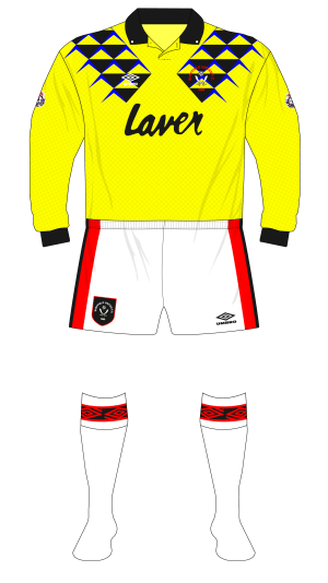 Sheffield-United-1992-1993-Umbro-goalkeeper-shirt-yellow-Simon-Tracey-01