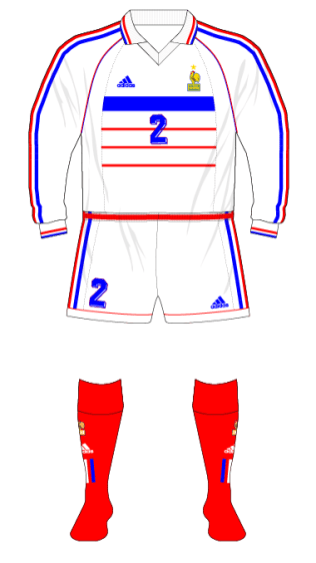 France-1998-adidas-away-kit-white-shorts-red-socks-Russia-01