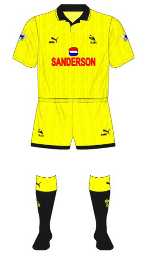Sheffield-Wednesday-1993-1994-yellow-fourth-kit-Wimbledon-Coca-Cola-01