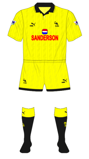 Sheffield-Wednesday-1993-1994-yellow-fourth-kit-Wimbledon-Coca-Cola-01