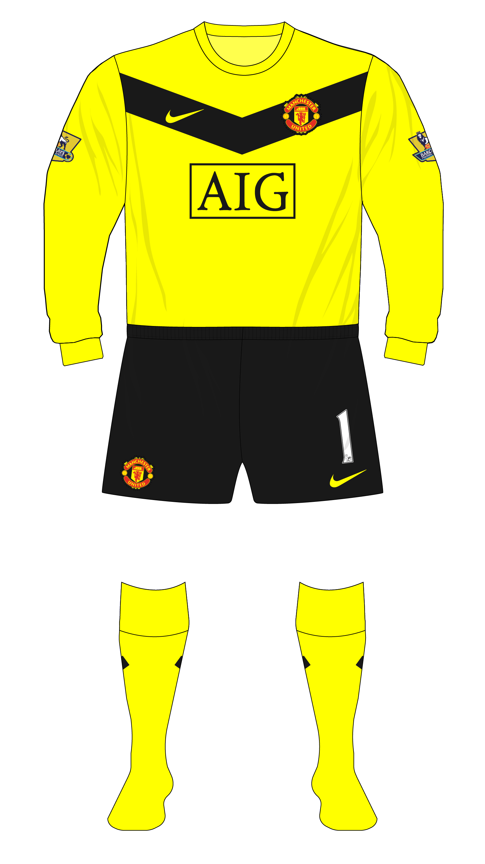 f0cdba89d Season in kits – Manchester United