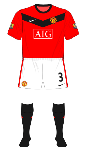 buy popular 21202 b4e95 Season in kits – Manchester United, 2009-10 – Museum of Jerseys