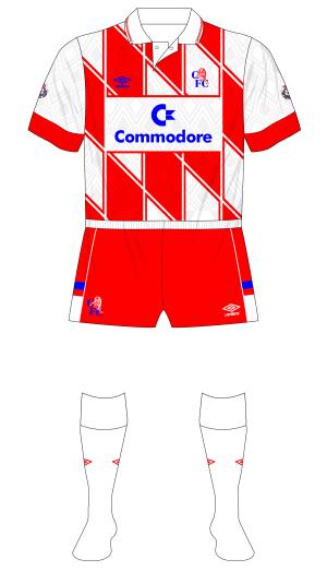 Chelsea-1990-1992-Umbro-away-jersey-shirt-Commodore-diamonds-red-shorts-Man-City-01