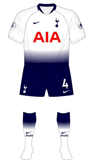 d709056d05f0 Manchester United and Tottenham Hotspur maintain European kit ...