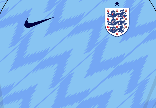 Fantasy Kit Friday - sky-blue England 2018 third kit
