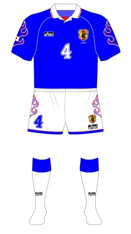 Japan-1998-Asics-World-Cup-home-white-socks-Argentina-01