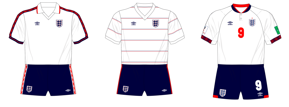Fantasy Kit Friday - England in Umbro