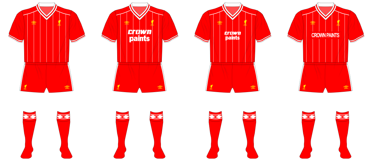 Football League Classics - Liverpool, 1982-85