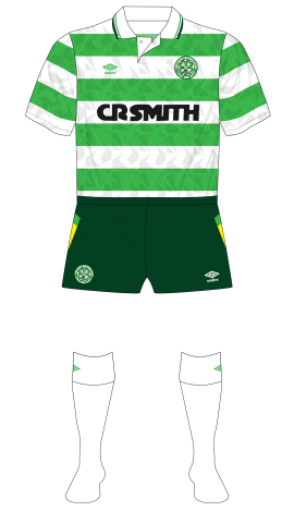 Celtic-1991-Umbro-home-green-shorts-Arsenal-01