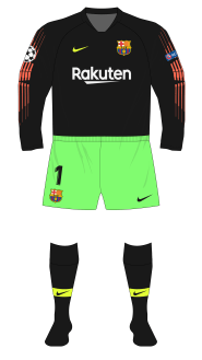 Barcelona-2018-2019-Nike-goalkeeper-portero-black-Ter-Stegen-green-shorts-PSV-01