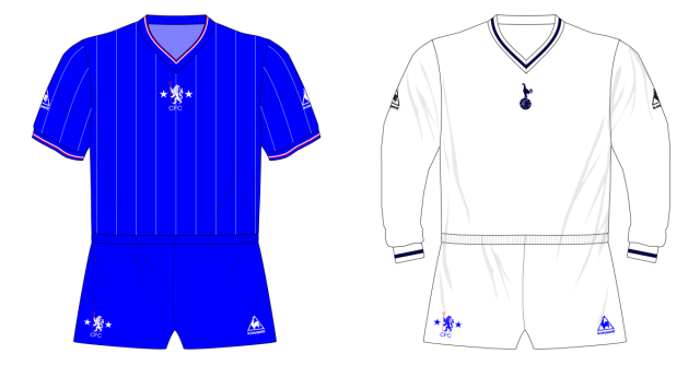 Midweek Mashup Tottenham Hotspur 1982 Museum Of Jerseys
