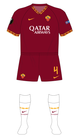Roma-2019-2020-Nike-home-red-shorts-white-socks-01
