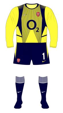 Arsenal-2002-2003-Nike-goalkeeper-yellow-Seaman-save-Sheffield-United-01-01