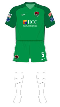 Cork-City-2017-Nike-home-green-shorts-white-socks-EA-Sports-Cup-01