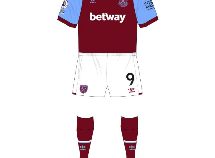 West-Ham-United-2020-2021-Umbro-home-claret-socks-2